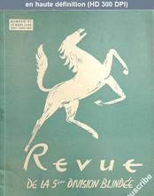REVUE DE LA 5 EME DIVISION BLINDEE numéro 41 du 15 mars 1949