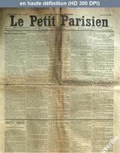 LE PETIT PARISIEN  numéro 5725 du 30 juin 1892