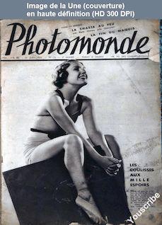 PHOTOMONDE numéro 15 du 10 juin 1933