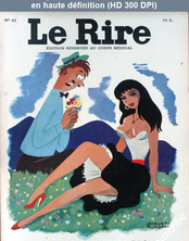 LE RIRE  numéro 43 du 01 avril 1955
