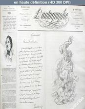 L' AUTOGRAPHE  numéro 7 du 01 mars 1864