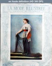 LA MODE ILLUSTREE  numéro 48 du 30 novembre 1913