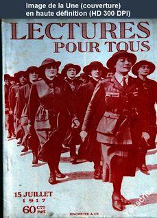 LECTURES POUR TOUS du 15 juillet 1917