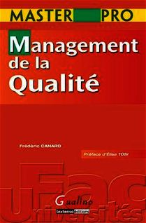 Master Pro. Management de la Qualité