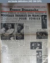 FRANCE DIMANCHE numéro 69 du 28 décembre 1947