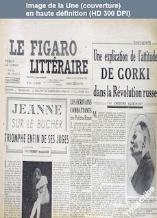LE FIGARO LITTERAIRE  numéro 212 du 13 mai 1950