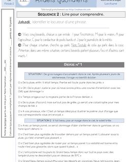 [CM1 - CM2] Rituels lecture pour toute l'année – Méthode A.R.T.H.U.R. - Séquence 2 – Lire pour comprendre Fonch Rituels lecture ARTHUR P2 S2