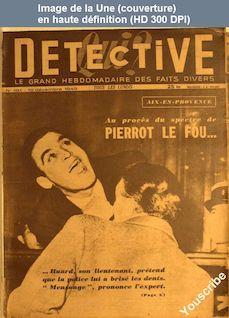 QUI DETECTIVE numéro 181 du 19 décembre 1949