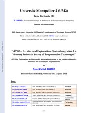eFPGAs : explorations architecturales, integration système, et une enquête visionnaire industriel des technologies programmables