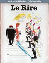 LE RIRE  numéro 62 du 01 novembre 1956