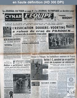 L' EQUIPE  numéro 1951 du 16 juillet 1952