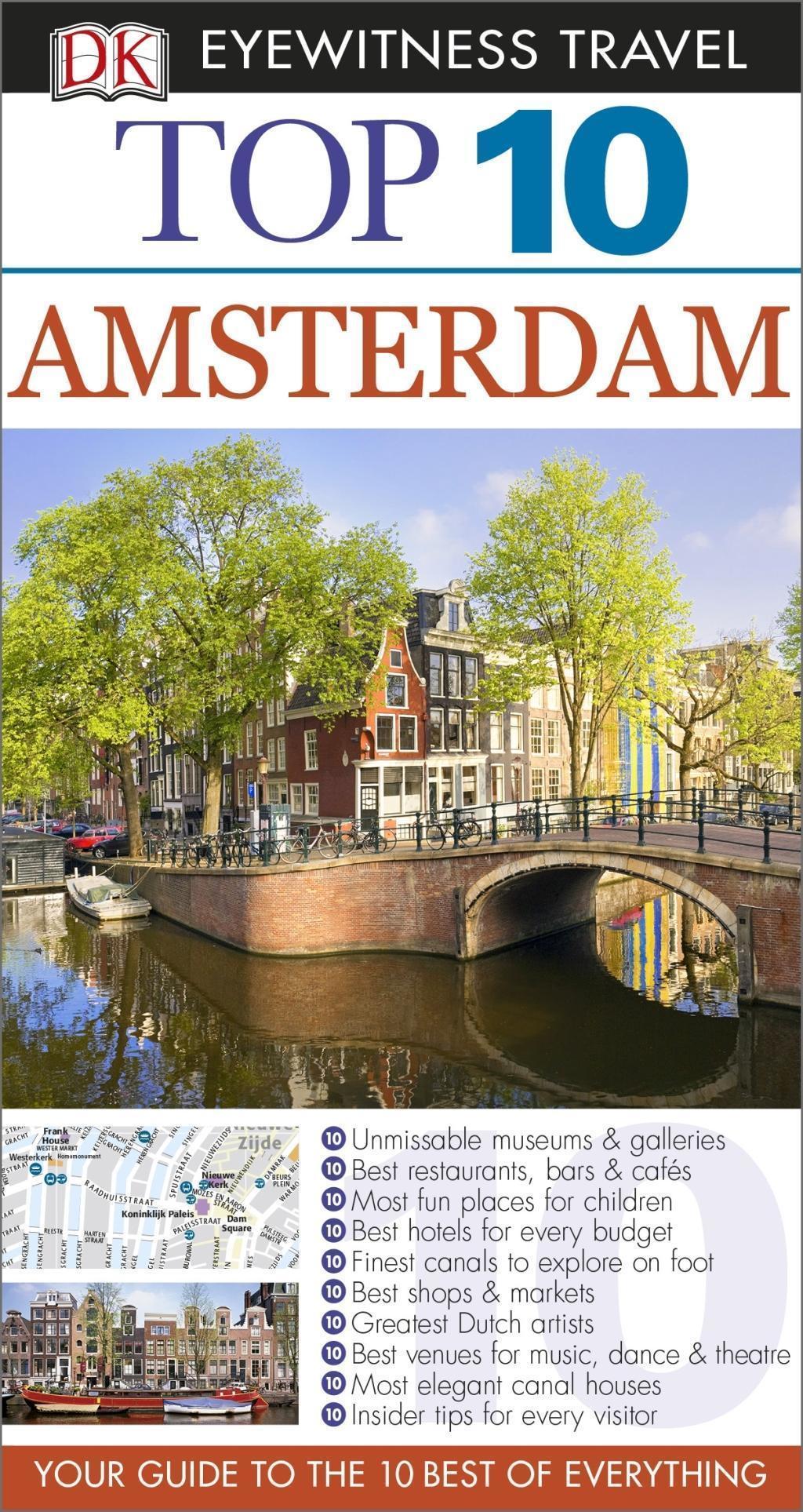 DK Eyewitness Top 10 Travel Guide Amsterdam