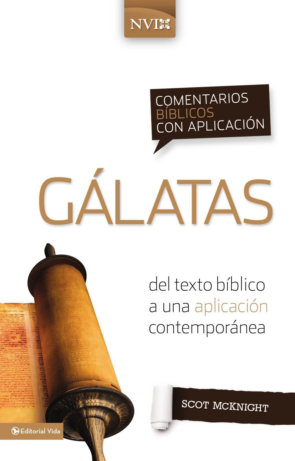 Comentario bíblico con aplicación NVI Gálatas