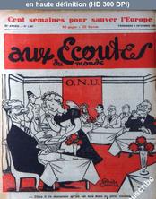 AUX ECOUTES DU MONDE numéro 1367 du 06 octobre 1950