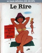 LE RIRE  numéro 59 du 01 août 1956