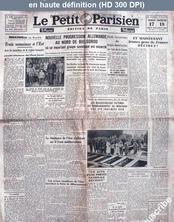 LE PETIT PARISIEN  du 17 juillet 1943