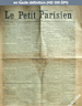 LE PETIT PARISIEN  numéro 5284 du 17 avril 1891