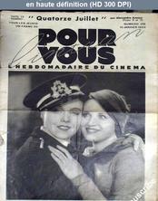POUR VOUS L'INTRAN numéro 218 du 19 janvier 1933