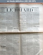 LE BRIARD  numéro 22 du 20 mars 1897