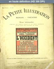 LA PETITE ILLUSTRATION THEATRE  numéro 43 du 27 décembre 1913
