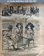 LE PETIT ECHO DE LA MODE  numéro 21 du 21 mai 1911
