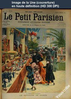 LE PETIT PARISIEN ILLUSTRE  numéro 670 du 08 décembre 1901