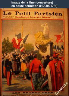 LE PETIT PARISIEN ILLUSTRE  numéro 1127 du 11 septembre 1910