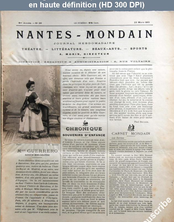 NANTES MONDAIN numéro 26 du 23 mars 1901