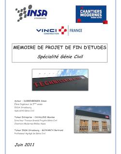 MEMOIRE DE PROJET DE FIN D'ETUDES