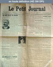 LE PETIT JOURNAL  numéro 150 du 30 mai 1909