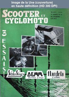 SCOOTER ET CYCLOMOTO numéro 93 du 01 mars 1960