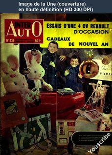 INTER AUTO numéro 436 du 22 décembre 1955