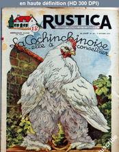 RUSTICA numéro 40 du 07 octobre 1951