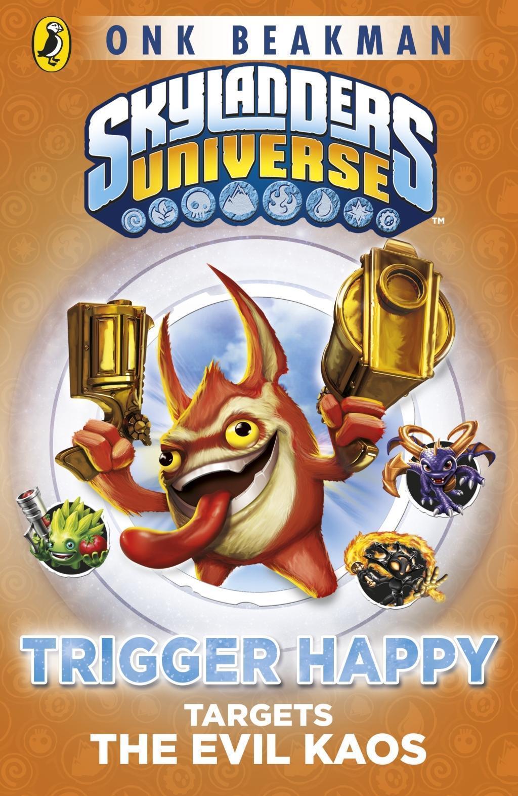 Skylanders Mask of Power: Trigger Happy Targets the Evil Kaos