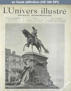 L' UNIVERS ILLUSTRE  numéro 2171 du 31 octobre 1896