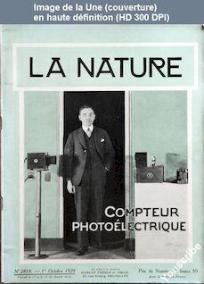 LA NATURE  numéro 2818 du 01 octobre 1929
