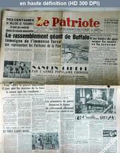 LE PATRIOTE  du 25 avril 1949