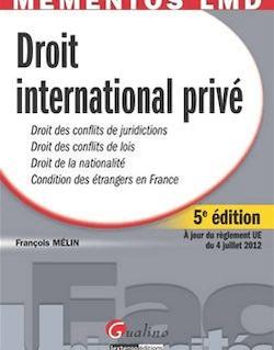 Droit international privé - 5e édition