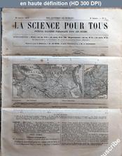 LA SCIENCE POUR TOUS  numéro 7 du 20 janvier 1859