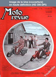 MOTO REVUE numéro 958 du 07 octobre 1949