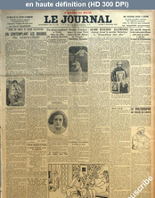 LE JOURNAL  numéro 12769 du 03 octobre 1927