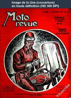 MOTO REVUE numéro 1111 du 22 novembre 1952