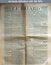 LE BRIARD  numéro 16 du 25 février 1911