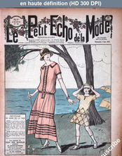 LE PETIT ECHO DE LA MODE  numéro 22 du 03 juin 1923