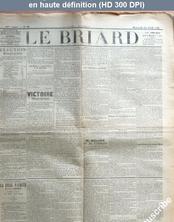 LE BRIARD  numéro 30 du 22 avril 1896