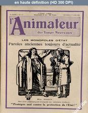 L' ANIMATEUR DES TEMPS NOUVEAUX  numéro 117 du 01 juin 1928
