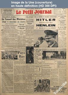 LE PETIT JOURNAL  numéro 27622 du 02 septembre 1938