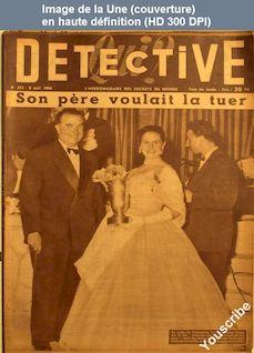 QUI DETECTIVE numéro 423 du 09 août 1954