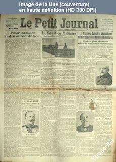 LE PETIT JOURNAL  numéro 19132 du 15 mai 1915