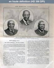 LES MISSIONS CATHOLIQUES  numéro 1884 du 14 juillet 1905